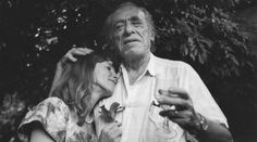 Charles Bukowski avec sa femme Linda