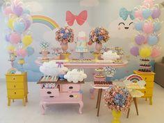 """Buona Party - Rafaela Pinheiro on Instagram: """"E finalizamos 2017 com um tema liiiiiindo, que eu amoooo! Chuva de Amor para comemorar o primeiro aninho da Maria Fernanda, que veio do…"""" • Instagram"""