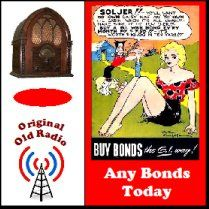 """""""Any Bonds Today"""" old time radio show on MP3 CDs. These commercials for War Bonds featured stars like Hanry Fonda & Walter Pidgeon. Our daughter's Jr High Class did a re-make of a Bing Crosby road show & she played Bugs Bunny in an Any Bonds Today ad. That road show taught the kiddos about old time radio shows & life in the 1940's. They performee at a Senior Care home & interacted with people who lived in those days. A lot of valuable education & lasting memories for all involved."""