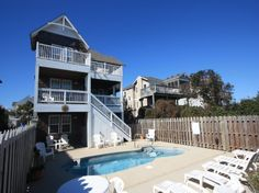 'JR109' is a 5 bedroom vacation rental home located in Nags Head, Nc.  Managed by Village Realty.  Property I.D. is JR109