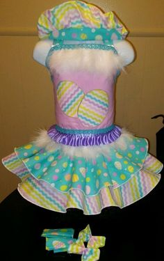 National Pageant Boutique Easter Dress Casual Wear  Size 3-5t #Handmade #DressyEverydayHoliday