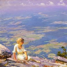 Impressioni Artistiche : ~ Charles Courtney Curran ~ American painter, 1861-1942
