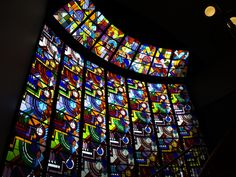 Stained Glass in Groningen, The Netherlands.