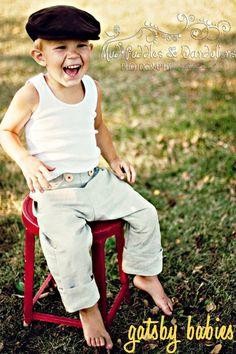 linen gatsby baby pants from bebeloo @Megan Ward Maxwell