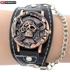 Bracelets & Bangles Buy Cheap Classical Black Layer Handmade Leather Chain Weaved Man Bracelets Fashion New Magnet Clasp Stainless Steel Wristband Relieving Heat And Thirst.