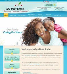 #sesamewebdesign #psds #dental #responsive #full-width #contained #orange #blue #green #curvy #texture #sans #gradient
