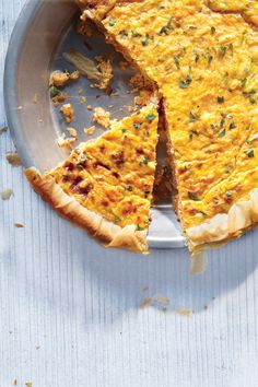 Low-Calorie Phyllo Quiche with Carrots | Vegetarian Times