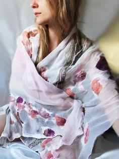 nuno felt shawl