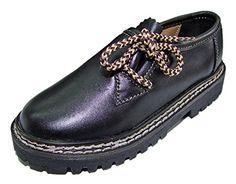 Kinder Trachten Haferlschuhe Nappaleder Schwarz Gr. 27 - Schöne Schuhe für Jungen Halbschuhe zur Trachten Lederhose - http://on-line-kaufen.de/isar-trachten/27-eu-kinder-trachten-haferlschuhe-nappaleder