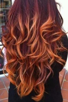 1000 Ideas About Burgundy Hair With Highlights On