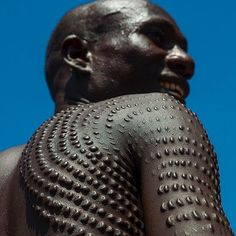 #Topossa brother from Kangate Lower #omovalley Ethiopia and #south Sudan #kilmonger #blackpanther inspiration @ericlafforgue (I KNOW THERE ARE OTHER NATIONS THAT DO THIS AND WILL POST MORE).
