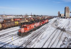 RailPictures.Net Photo: CP 1643 Canadian Pacific Railway EMD GP9 at Thunder Bay, Ontario, Canada by John Rice