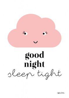 Good night. Free printables! kreativakarin