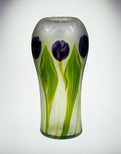 #Tiffany -- Vase -- Circa 1906 -- Favrile Glass -- The Metropolitan Museum of Art