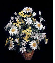 Daisy Silk Flower Arrangement