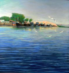 Volando Bajo - http://redarte.com.ar/2014/02/volando-bajo/ #RedArte #Art #Arte #Pintura