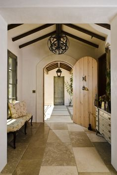 This charming traditional entry was completed by Fergus Garber Young Architects. #luxeSanFran
