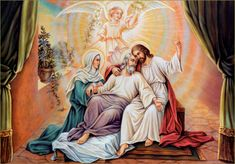 St. Joseph, Patron of the Dying Prayers for the Dying and the Holy Souls