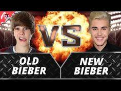 Old Bieber VS New Bieber YouTubers Decide