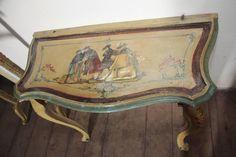 Velencei barokk konzolasztal  - stílus jellemzői Korat, A 17, Country Chic, Shabby Chic, Cabinet, Modern, Clothes Stand, Country Fashion, Trendy Tree
