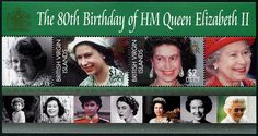 Virgin Islands QEII 80th Birthday Stamps