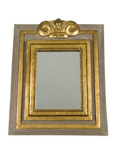 Parcel-Gilt Wall Mirror