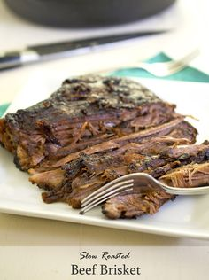 Slow Roasted Beef Brisket Recipe - RecipeChart.com