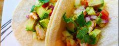 Avocado & Shrimp Ceviche Tacos