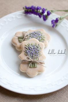 Lavender Cookies - from hello baked