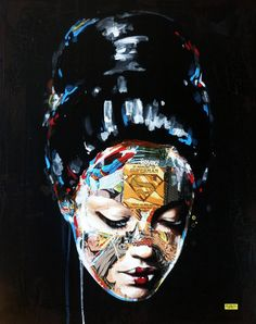 Super Hero Canvas by Sandra Chevrier Superman, Batman, Dune, Montreal, Sandra Chevrier, People Illustration, Illustrations, Portraits, Gcse Art