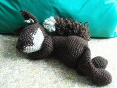 #edsanimals scoiattolo uncinetto - squirrel crochet amigurumi