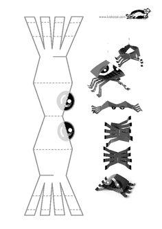 printables for kids Sea Animal Crafts, Animal Crafts For Kids, Chinese Crafts, Kindergarten Crafts, Preschool, Arts And Crafts, Paper Crafts, Printable Paper, Fine Motor