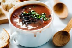 A protein packed soup to make any night a fiesta!