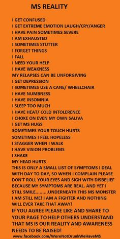 Several of my friends are meeting the challenges of MS!