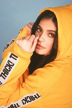 Kylie Jenner wearing  Kylie Shop Thick! Hoodie