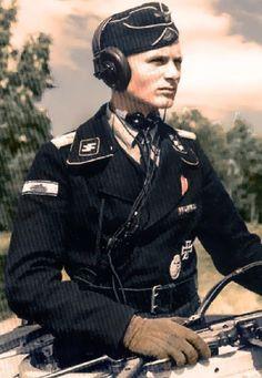 SS Panzer crewman