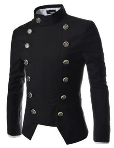 TheLees Mens Double Breasted Slim Fit Jacket Blazer