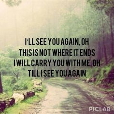 Carrie Underwood- see you again