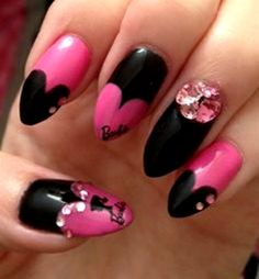 Barbie Nail Artt