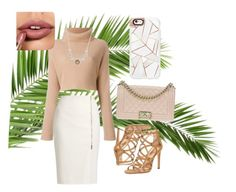 """Untitled #15"" by flyme2mars on Polyvore featuring MaxMara, Dorothy Perkins, Casetify, Judith Jack and Chanel"