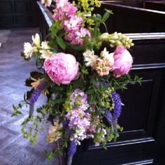 Pamela's wedding flowers London florist