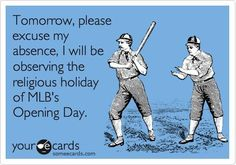 Image result for baseball opening day meme