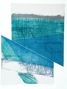 Blauwe symphonie   Een werk van Jeanneh uit 2007