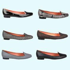 NEW! Via Spigas smoking slipper, Edina. Which one is your favorite? (via Via Spigas - New York, NY - Glass)