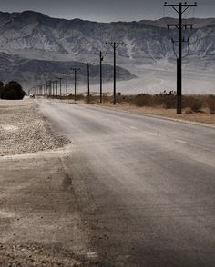 The bleak lonely desert (location and photographer unknown)