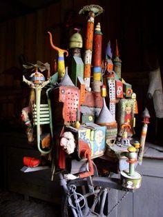 , Assemblies, gerard collas, sculpture