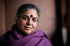 Dr. Vandana Shiva, of UO sponsored Food Justice Conference