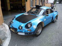 RaceCarAds - Race Cars For Sale » Renault Alpine A110 1600S