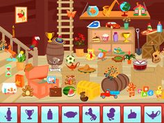 Essentials Hidden Obejct is a new HTML 5 media game. In this game you have to find 20 objects and you can get