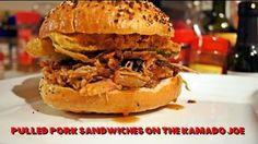 Pulled Pork On The Kamado Joe Recipe -- Watch Smoky Ribs create this delicious recipe at http://myrecipepicks.com/52/SmokyRibs/pulled-pork-on-the-kamado-joe-recipe/